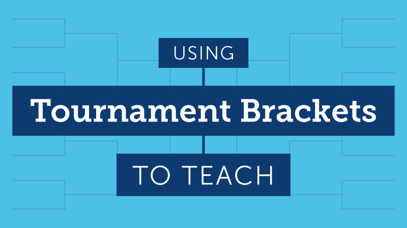 Teaching Tournament Brackets
